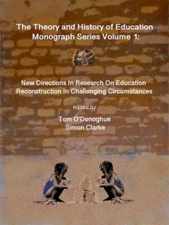 Cover for New Directions in Research on Education: Reconstruction in Challenging Circumstances